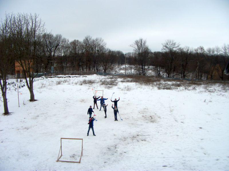 Spiel im Schnee